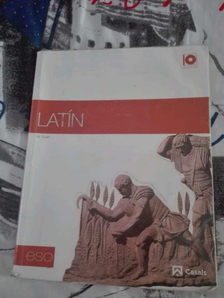 Imagen libro latin 4°ESO