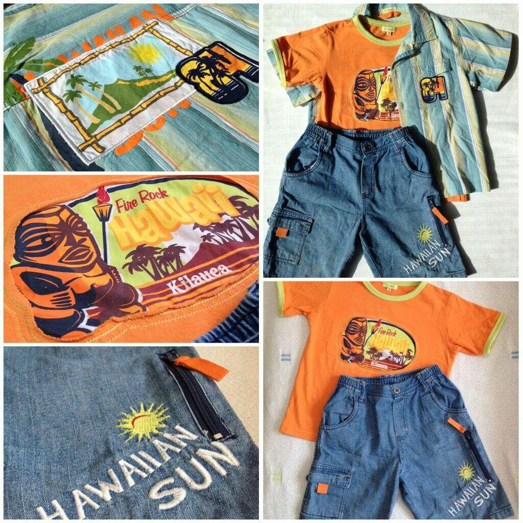 Imagen producto Lote Conjunto Hawaii niños  4