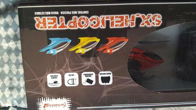 Imagen producto Helicóptero teledirigido NUEVO 30€  3