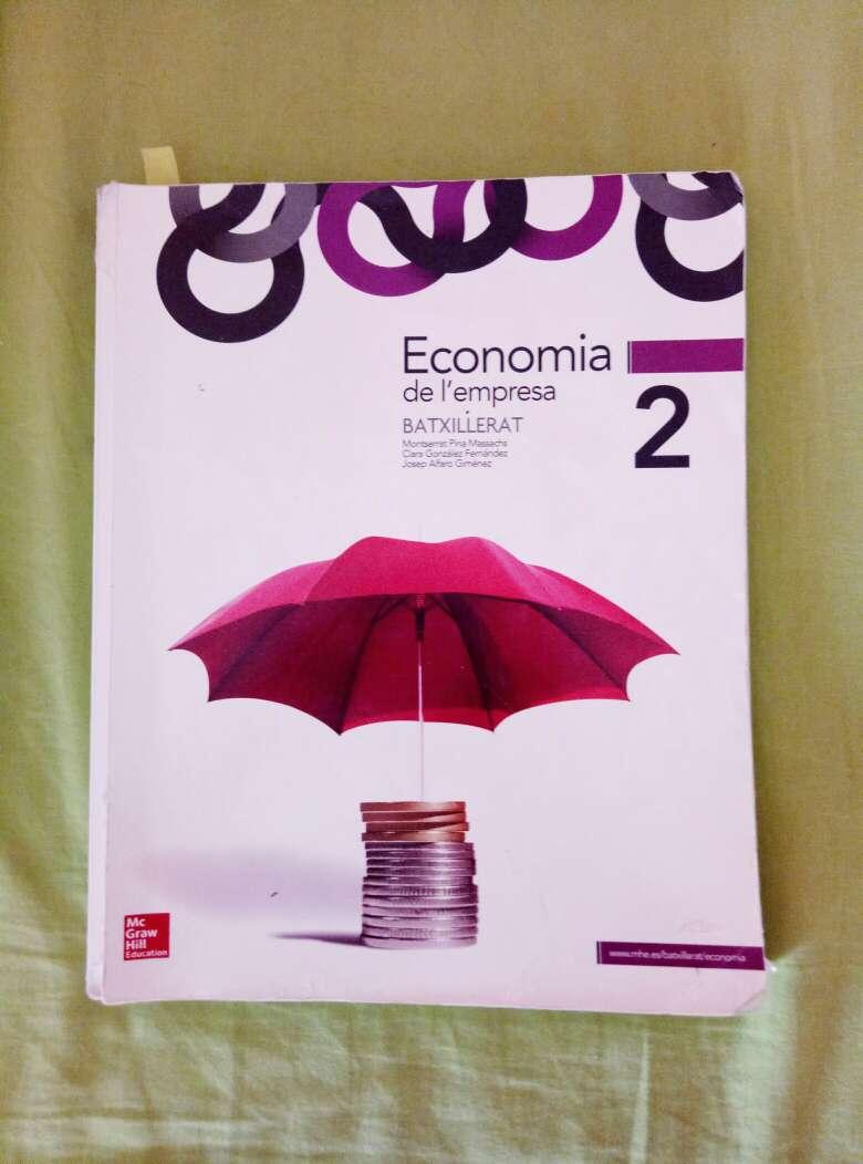 Imagen Libro economia de la empresa