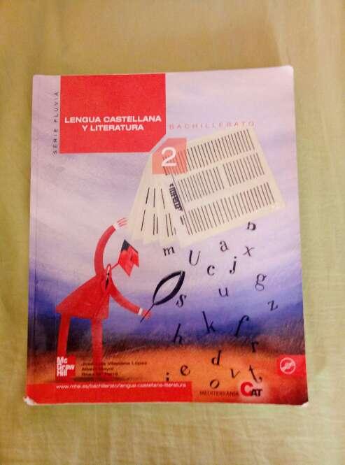 Imagen Libro de lengua castellana 2o de bachillerato