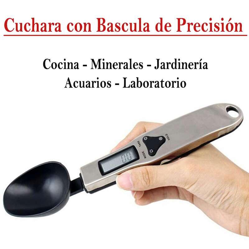 Imagen Cuchara bascula de precisión 0,1gr a 300gr
