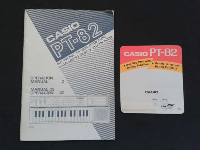 Imagen producto Casio PT - 82 3