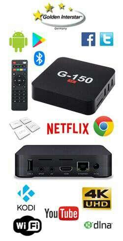Imagen producto TV Box G-150 4k android 6,0 Golden Interstar 2