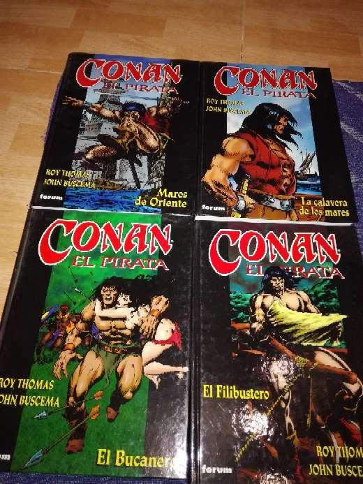 Imagen Conan el Pirata 4 libros