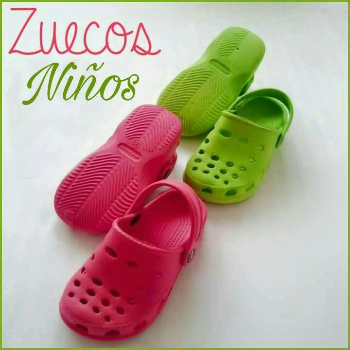 Imagen Lote Zuecos tipo Crocs