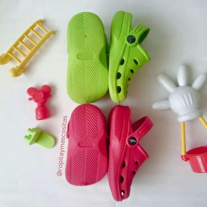 Imagen producto Lote Zuecos tipo Crocs  4
