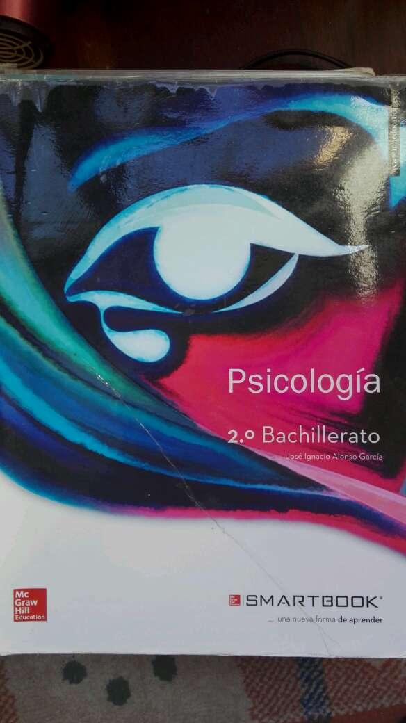 Imagen libro psicología 2°bach