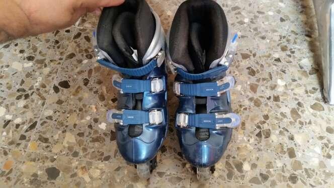 Imagen patines de linea numero 37 ruedas silicona