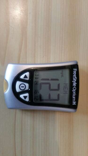 Imagen medidor de glucosa