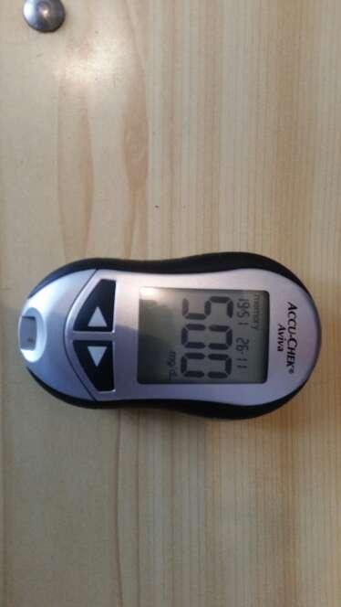 Imagen medidor de glucosa economico