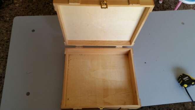 Imagen producto Caja de madera preciosa para guardar cosas 2