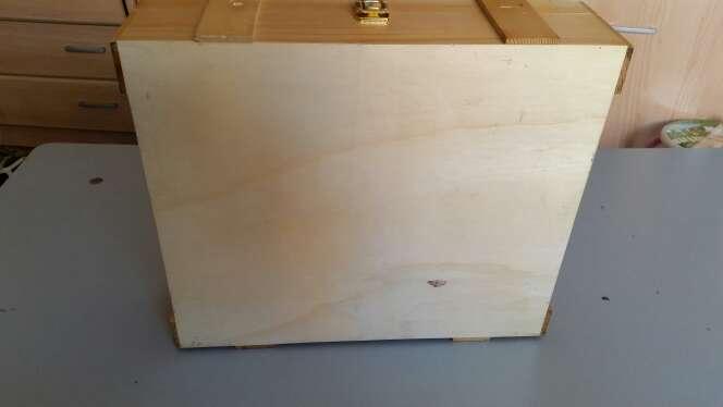 Imagen producto Caja de madera preciosa para guardar cosas 3