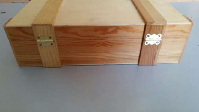 Imagen producto Caja de madera preciosa para guardar cosas 4