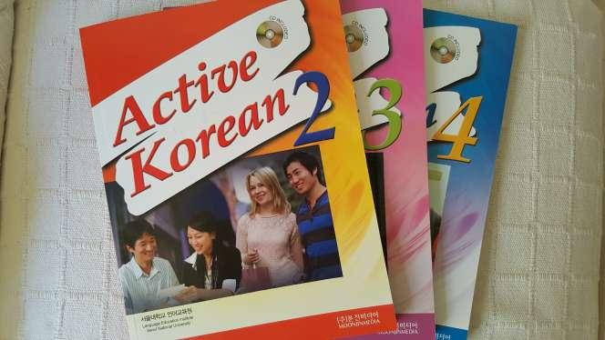 Imagen Libros de gramática coreana
