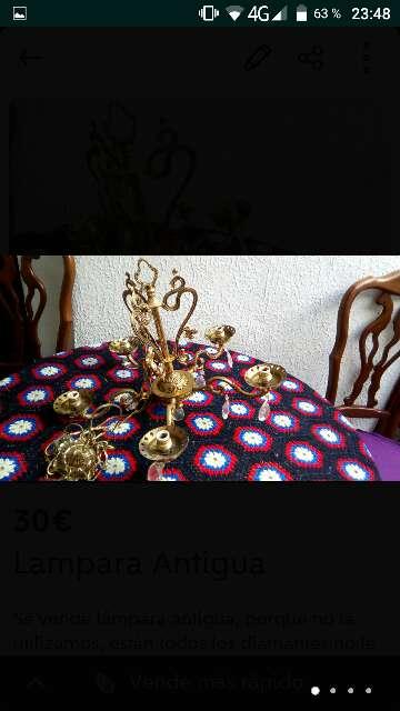 Imagen producto Lámpara antigua  3