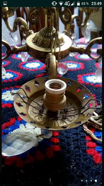 Imagen lámpara antigua