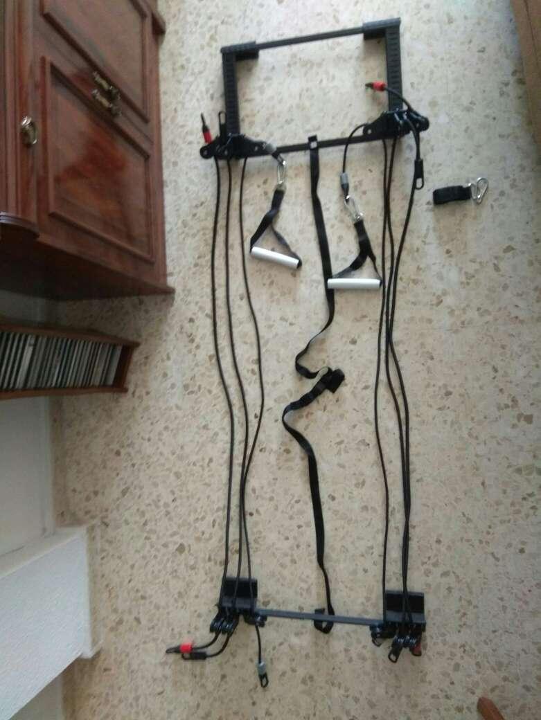 Imagen Poleas para hacer ejercicio en casa