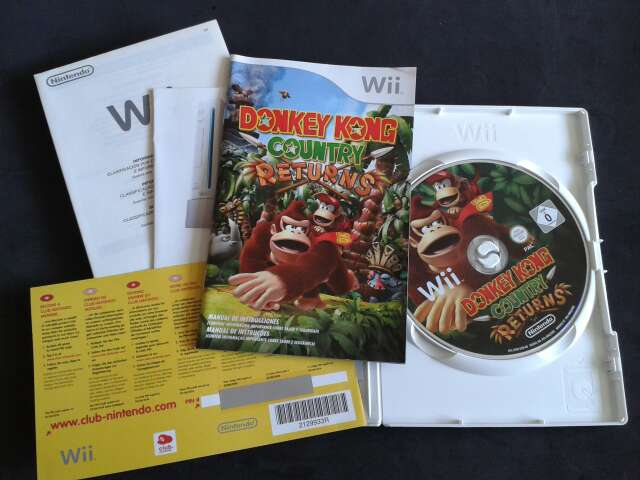 Imagen producto Donkey Kong Country Returns 2