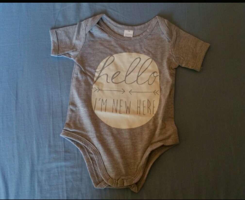 Imagen Body para bebé nuevo a estrenar 4-6 meses