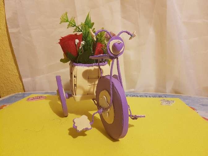 Imagen producto Bicicleta Florero 3