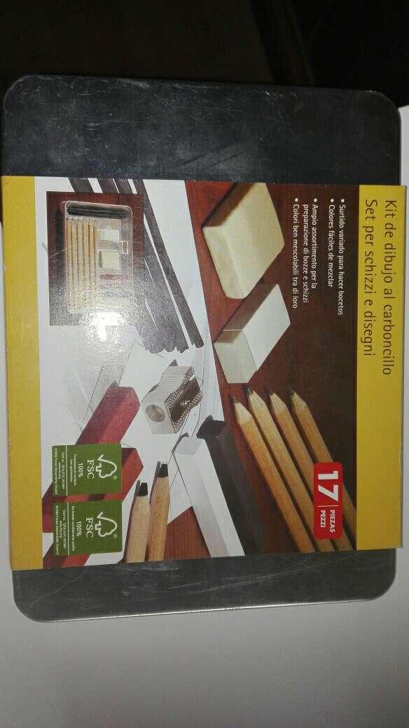 Imagen kit de carboncillo