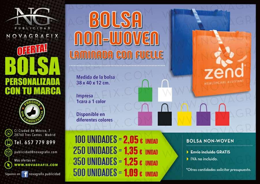 Imagen Bolsas NON-WOVEN personalizadas