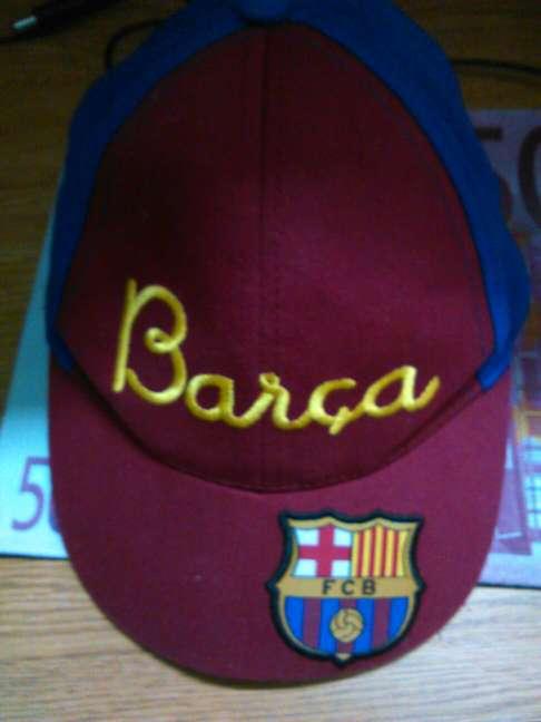 Imagen gorra del Barça