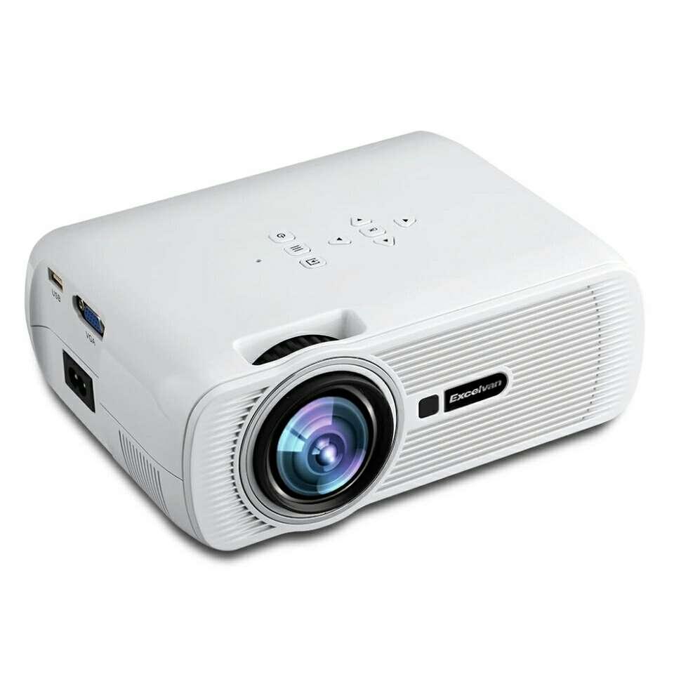 Imagen Proyector HD LED 1800 Lumenes con 2 Gafas 3D nuevo