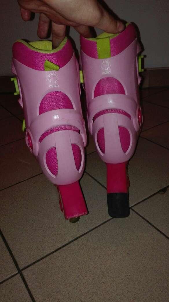 Imagen producto Patines de línea rosas  2