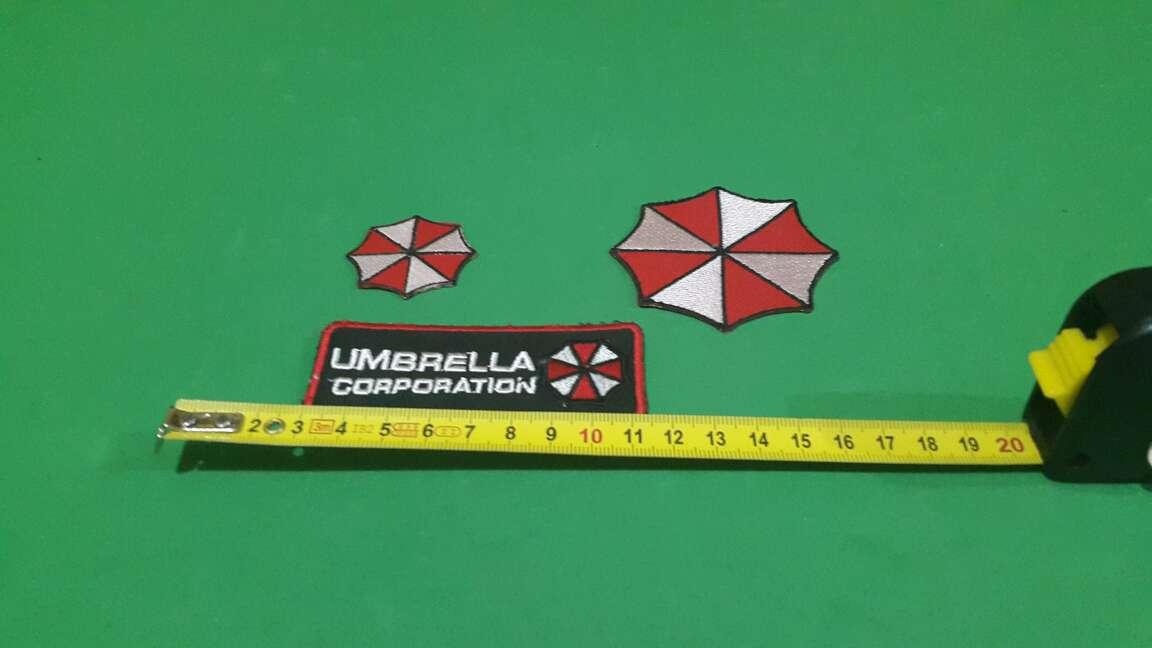 Imagen 3 parches umbrella Resident evil