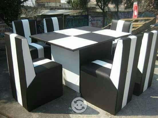 Imagen comedor de 6 sillas