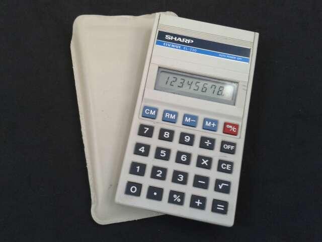 Imagen Calculadora Sharp Elsi Mate