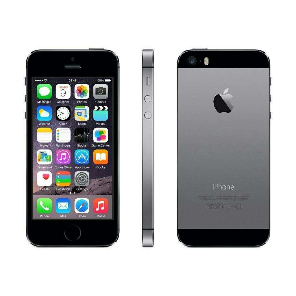 Imagen iphone 5s 16 gb gris espacial