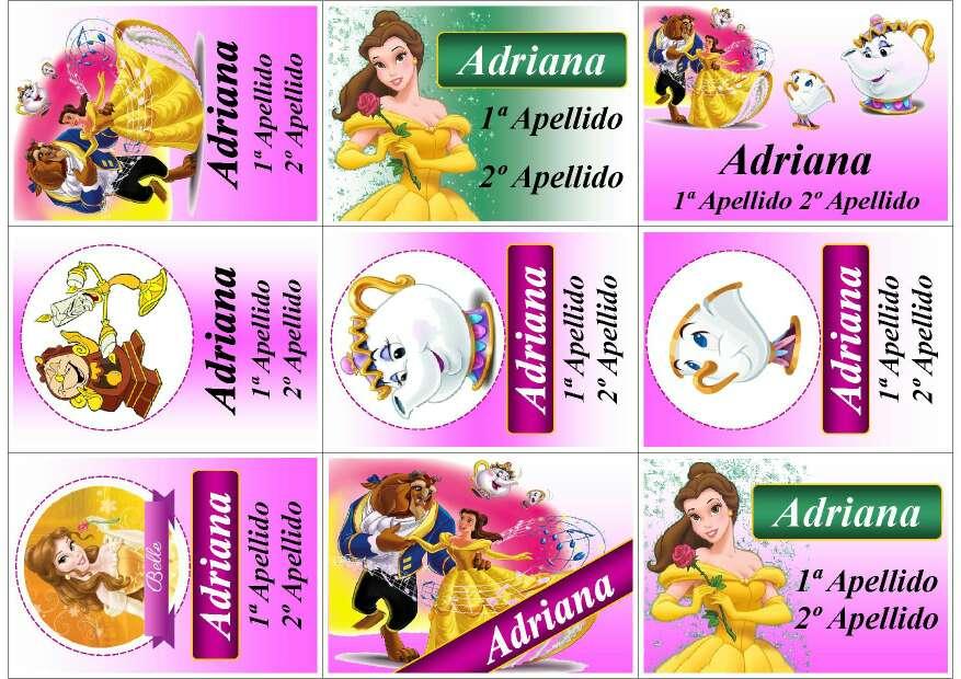 Imagen producto Pegatinas Escolares Personalizadas 2