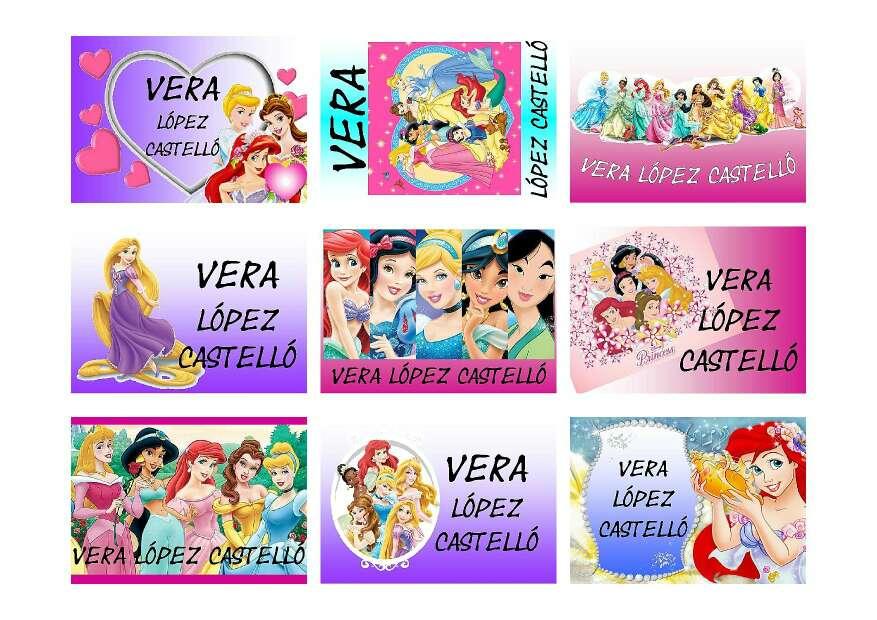 Imagen producto Pegatinas Escolares Personalizadas 4