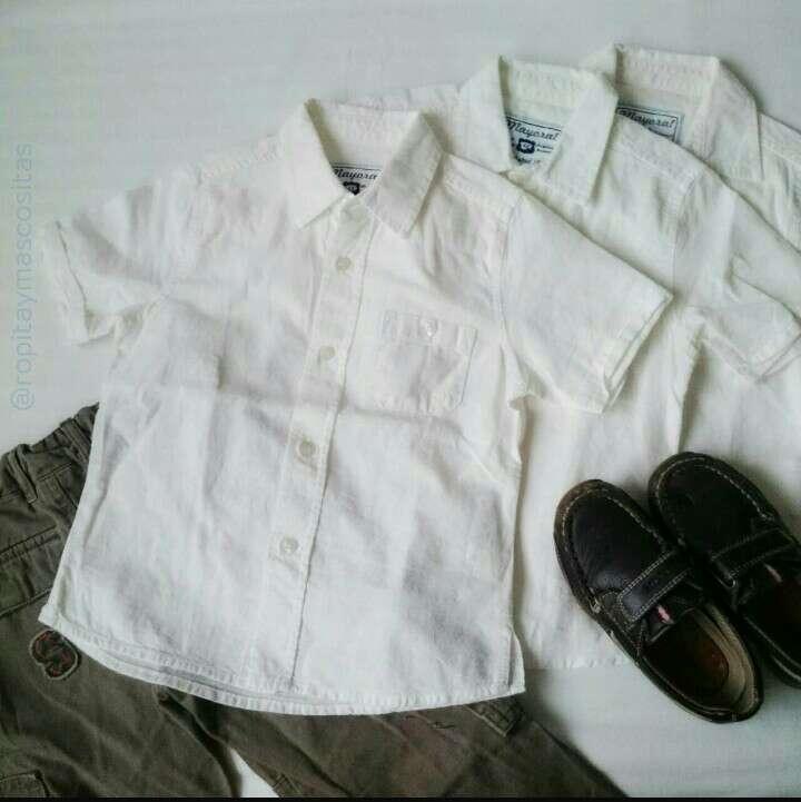 Imagen Lote Mayoral Camisas lino