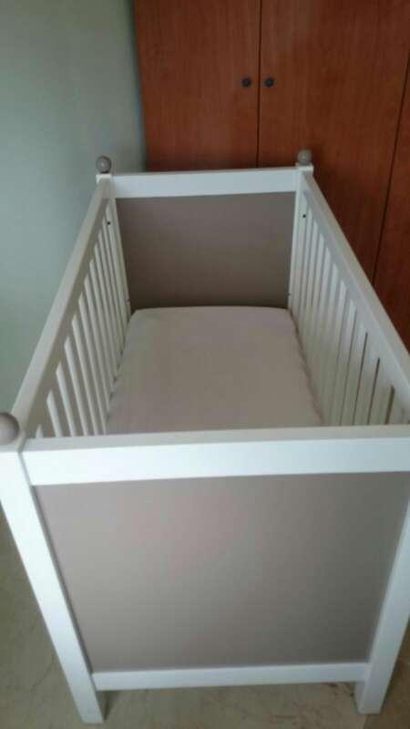 Imagen Cuna de Bebe con colchón