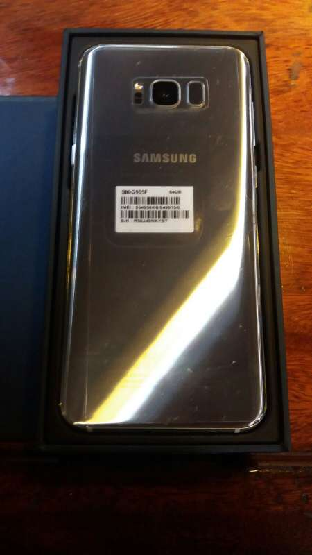 Imagen producto Vendo samsung s8 plus de 64 GB color plata  3