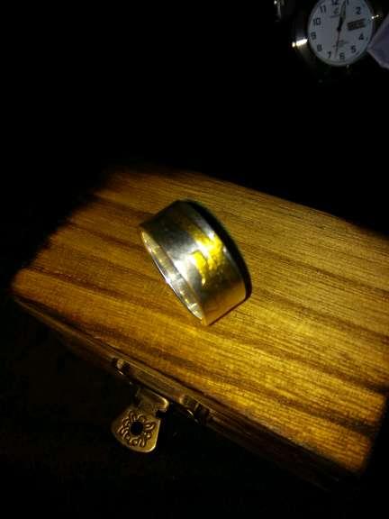 Imagen producto Anillo. de. plata oro 4