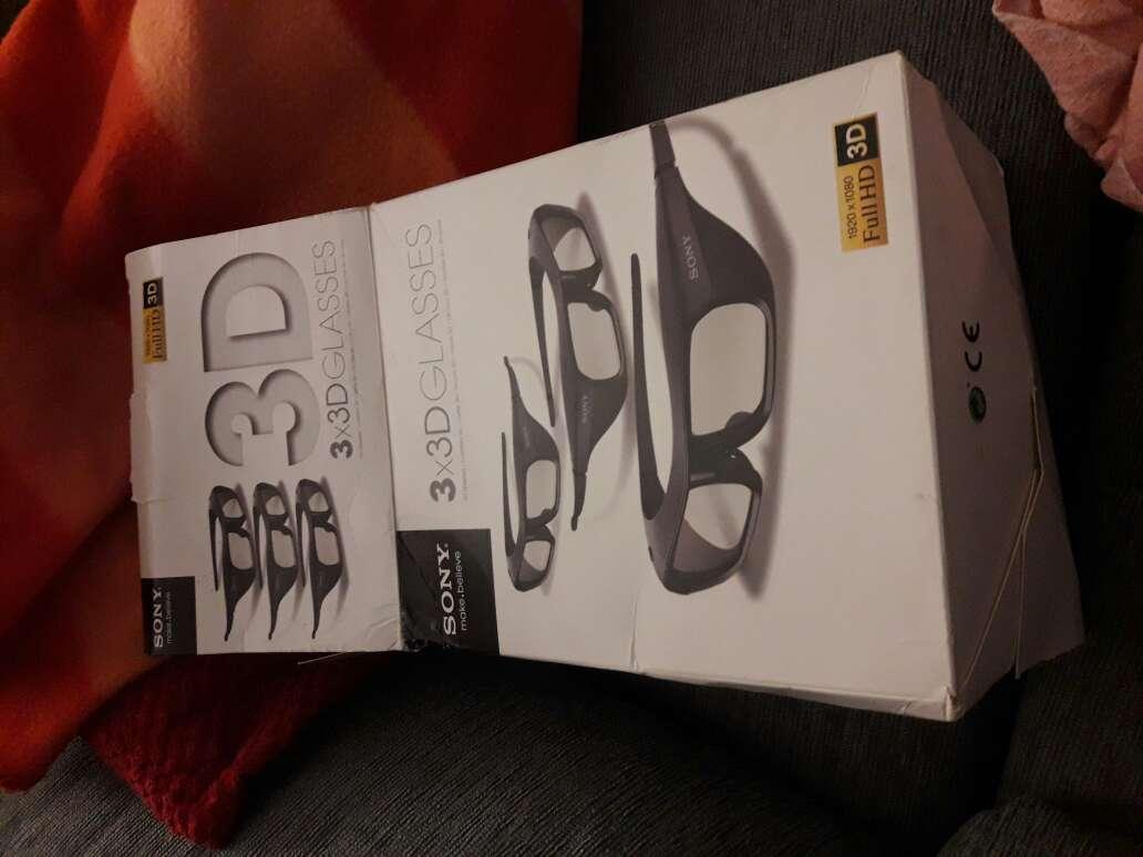 Imagen Gafas 3D SONY