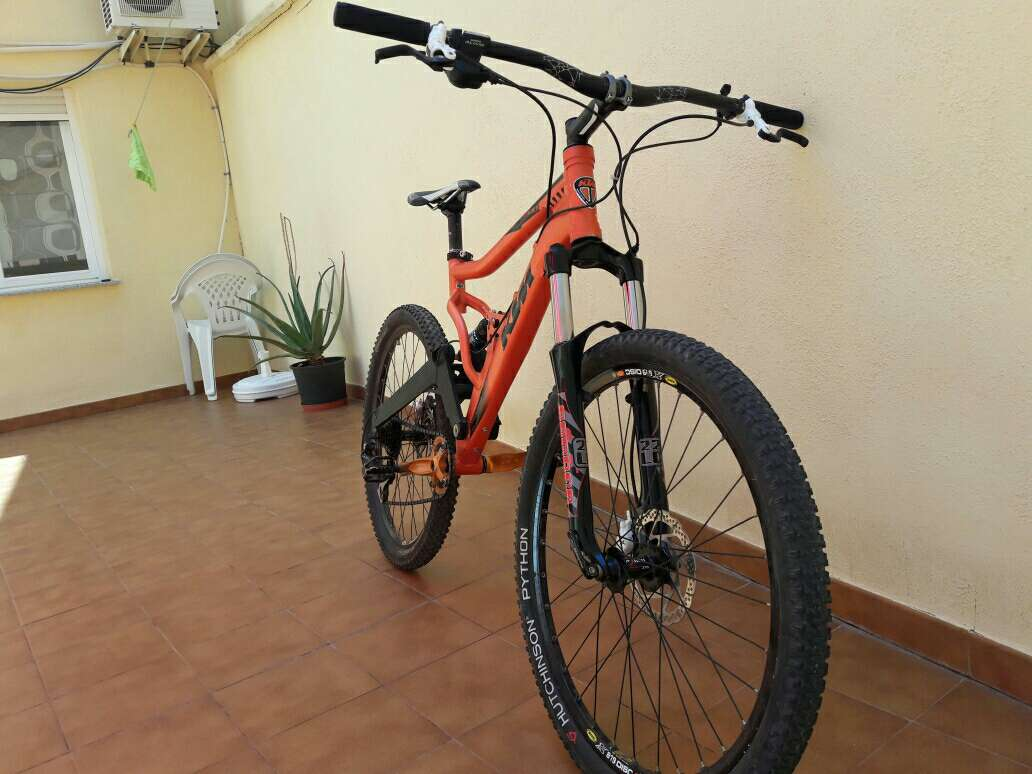 Imagen bici enduro/descenso