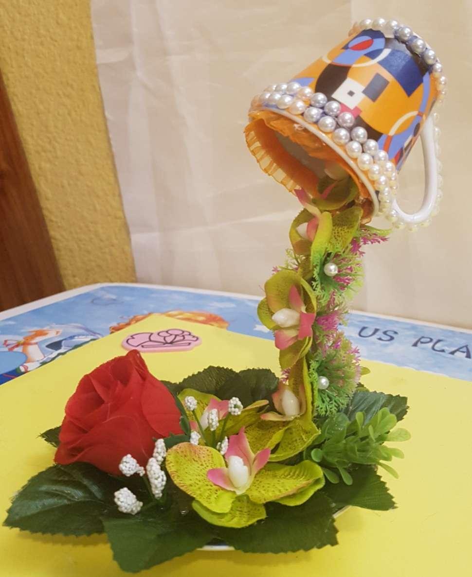 Imagen producto Lote 2 floreros 3D 2