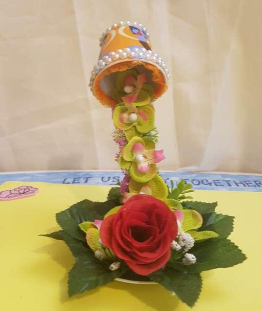 Imagen Lote 2 floreros 3D