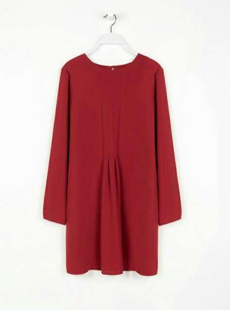 Imagen producto Vestido marsala. 1