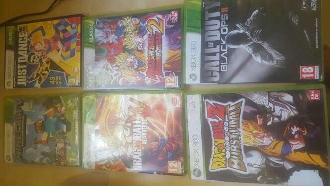 Imagen producto Xbox 360 + juegos y kinect 2