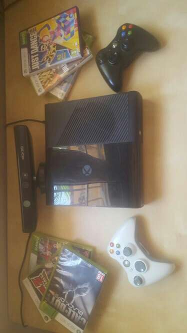 Imagen producto Xbox 360 + juegos y kinect 3