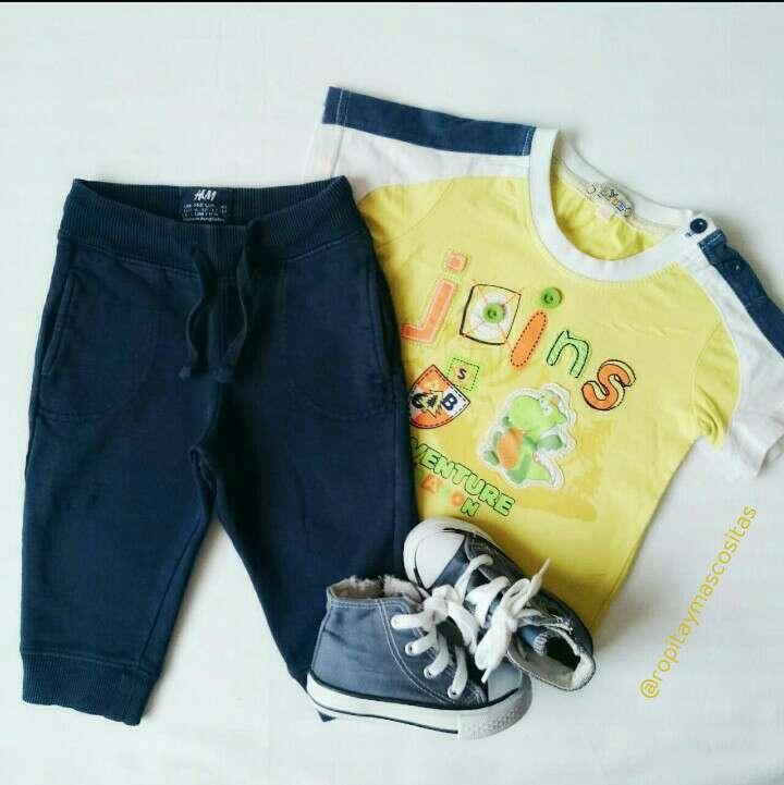 Imagen Pantalones ecológicos Converse Polo amarillo