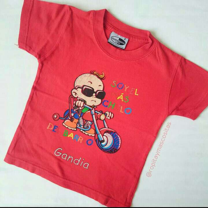 Imagen Regalo Camiseta Roja niños