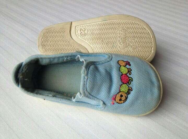 Imagen producto Zapatillas azules celeste  4